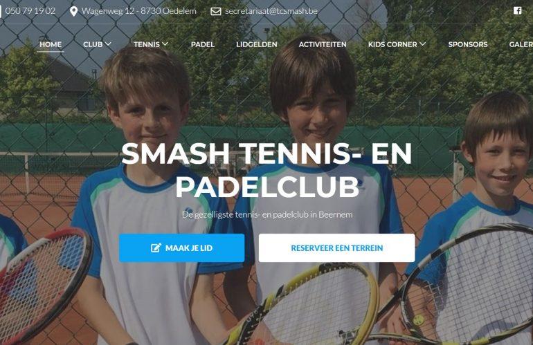 Nieuwe website Smash
